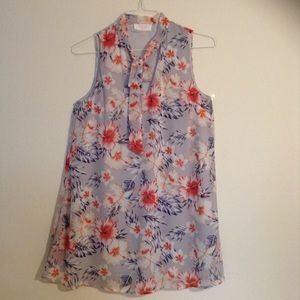 EUC Peach Love California Shift Dress with a Tie